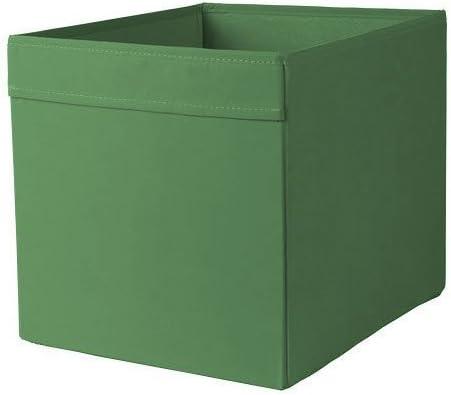 Ikea Dröna – Caja – Estante Estantería Uso en 33 x 38 x 33 (Alto) – Color Verde Oscuro: Amazon.es: Hogar