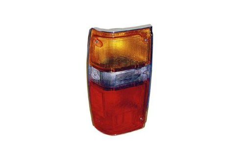 Toyota Pickup Replacement Tail Light Assembly (Chrome) - - Toyota 84 1984 4runner Tail
