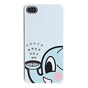 get Cartoon Elephant Pattern Hard Case for iPhone 4/4S