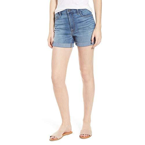 ディンカルビル錆びする必要がある(ジェン7) JEN7 レディース ボトムス?パンツ ショートパンツ Roll Up Denim Shorts [並行輸入品]