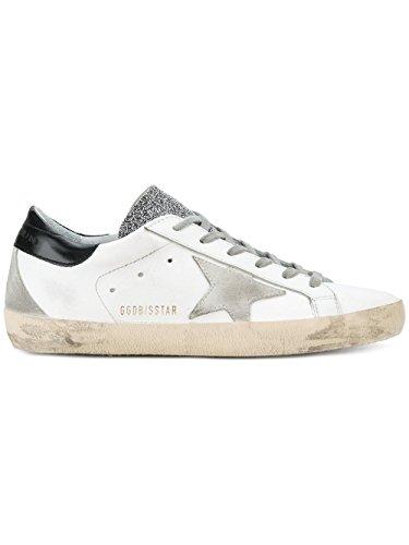 Les Chaussures De Sport En Cuir Blanc G32ws590e65 Femmes D'oie D'or