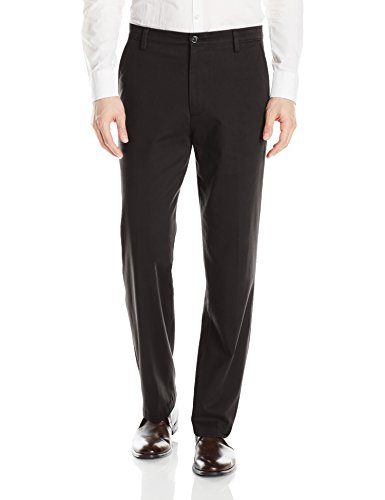 Dockers Men's Classic Fit Easy Khaki Pants D3, Black (Stretch), 36 32