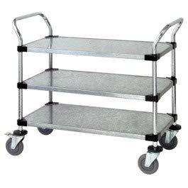 Quantum Storage Systems - WRC-2442-2CO - ESD-Safe 2-Shelf Utility Cart, 24' W x 42' L x 37-1/2' (Components 24' Storage)