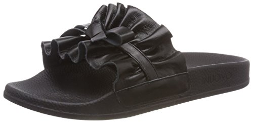 Femme black Tongs 16778543 Inuovo 9209 Noir qnCgwEg4S