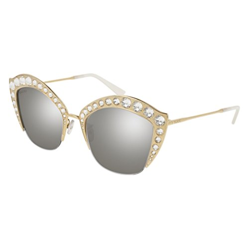 Sunglasses Gucci GG 0114 S- 004 GOLD / SILVER