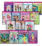 img - for CANDY APPLE 15-BOOK SET (Miss Popularity, Drama Queen, The Babysitting Wars, I've Got a Secret, Callie for President, Making Waves, The Sister Switch, Accidentally Fabulous, Confessions of a Bitter Secret Santa, Accidentally Famous, Star-Crossed, Accidentally Fooled, Miss Popularity Goes Camping, Life, Starring Me!, and Juicy Gossip) book / textbook / text book