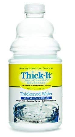 Thick-It AquaCareH20 Water, 64 oz, 4/Case (Nectar) ()
