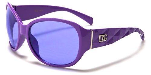 Kid's DG Eyewear Fashion Stylish Hip Celebrity Inspired Sunglasses - Gafas De Sol - Several Colors Available! (Purple)