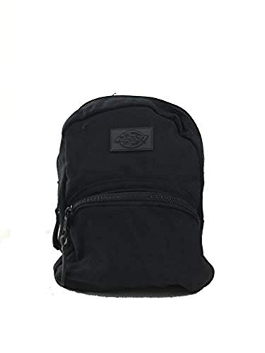 Dickies Canvas Mini Backpack Black & Knit Cap Bundle ()