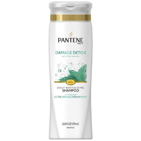 (Pantene Pro-V Damage Detox Daily Revitalizing Shampoo, 12.6 oz, 2 Pack)