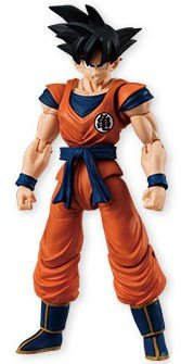 Bandai Shokugan Shodo Part 4 Dragon Ball Z Goku Action Figure