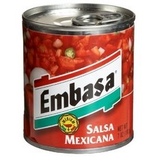 Embasa Salsa Mexicana Red Medium (12x7Oz)