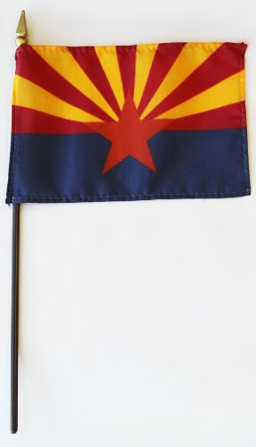 Miniature State Flags - Arizona - 4
