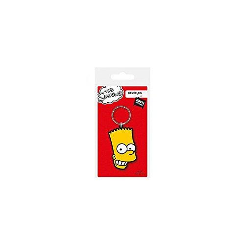 Porte-clés Caoutchouc Bart Simpsons Pause Canap