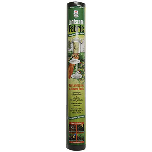 Easy Gardener Economical Landscape Fabric For Weed Control, 3 feet x 100 feet