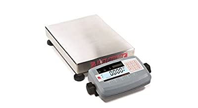 Ohaus OSDEFL1412--30L Stainless Steel Defender 7000 Precision Bench Scale, Low Profile, 30 lb.