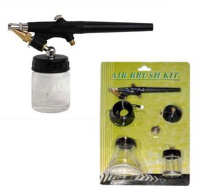 gle Action-Siphon Feed-External Mix-Sunless Tanning (Siphon Feed Airbrush Set)