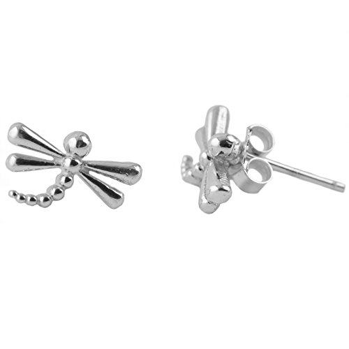 Dragonfly Stud Earrings - Sterling Silver Jewelry by Dayna (Dragonfly Stud Earrings)