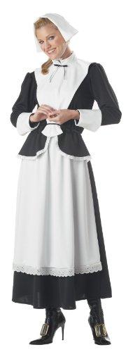 [Pilgrim Woman - Large - Dress Size 10-12] (1800s Dresses Costumes)
