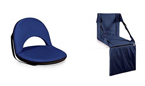 ピクニック時間Oniva and Stadium Seat – ネイビー、2のセット B06XX64XTT