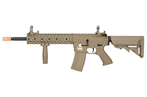 Lancer Tactical LT-12TL-G2 Gen 2 M4 Carbine AEG Airsoft Rifle - Tactical M4 Carbine