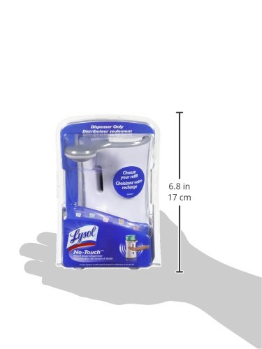 Lysol No-Touch Automatic Hand Soap Dispenser, 1 Count (Colors May Vary) by Lysol (Image #4)