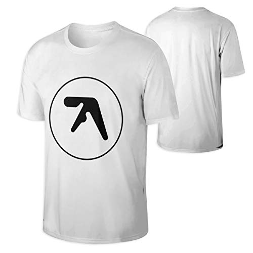 Eileen M Brown Aphex Twin Men's Casual Short Sleeve Cotton T Shirt White -