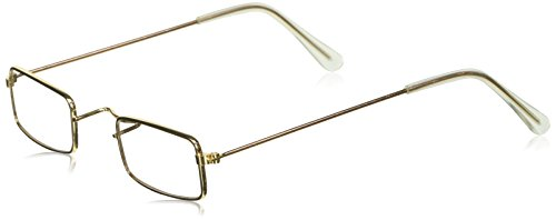 Granny Costume Accessories (Amscan Roaring '20S Costume Party Grandma Glasses (Pack Of 1), Gold, 4