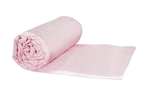 Weighted Blankets Plus LLC - Made in USA - Child Deluxe Small Weighted Blanket - Light Pink - Cotton/Flannel (52