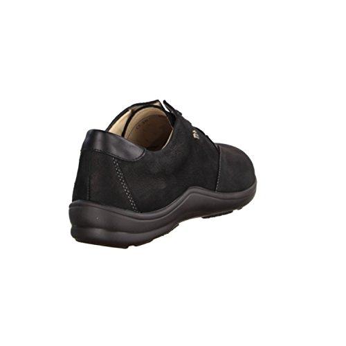 negro de Finn Zapatos Comfort para negro cordones mujer EqxAHxS0w