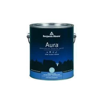 Benjamin moore aura waterborne interior latex paint water based interior house paints Aura exterior paint reviews