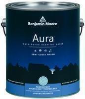 Moore Aura Benjamin Paint - Benjamin Moore Aura Waterborne Exterior Latex Paint