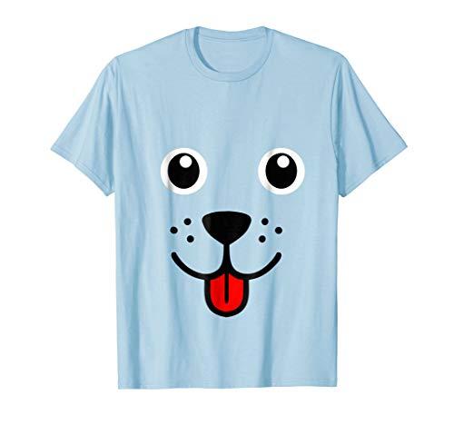 Funny Dog Puppy Face Shirt Halloween Costume Gift Tshirt