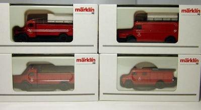 Marklin HO Scale Fire Department Assortment