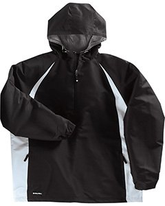 - Hurricane Micro-Cord<TT><SUP>TM</TT></SUP> Polyester Pullover Jacket with Heather Jersey Lining from Holloway Sportswear
