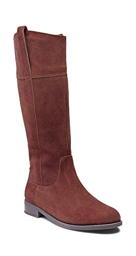 (Vionic Women's Country Downing Boot Knee High Chocolate 11 M US)