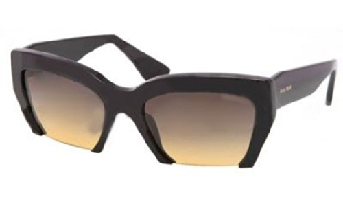 Miu Miu Sunglasses SMU 11O/S Black - Miu Sunglasses Miu Mens