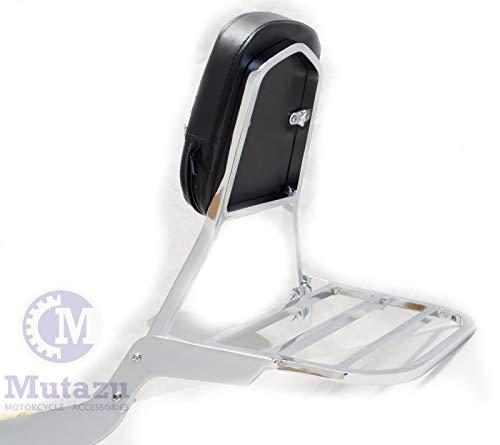 - Sissy Bar Backrest and Luggage rack For Suzuki Boulevard M109R 2006-2011 2010(SB-2-C)