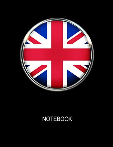 - Notebook. United Kingdom Flag Cover. Composition Notebook. College Ruled. 8.5 x 11. 120 Pages.