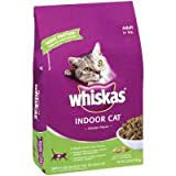 Whiskas Dry Cat Food for Indoor Cats 3lb, My Pet Supplies