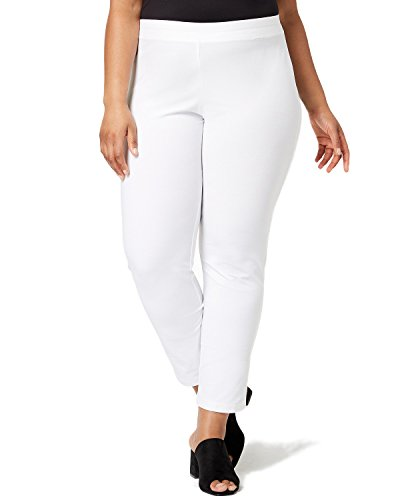 Eileen Fisher Crepe Ankle Pants (Plus Size) (2X-Large)