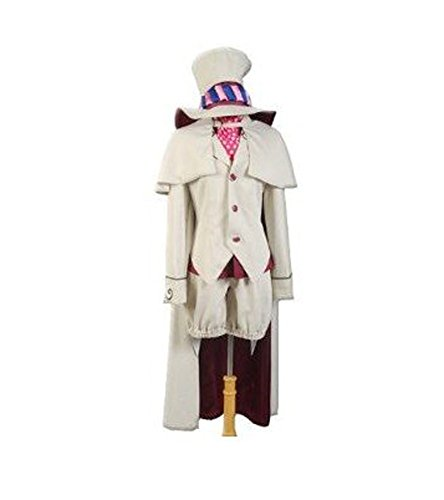Donacosplay Blue Exorcist Ao No Exorcist Mephisto Pheles Cosplay Costume (Blue Exorcist Mephisto compare prices)