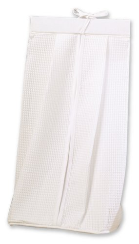 Trend Lab Pique Diaper Stacker in White from Trend Lab