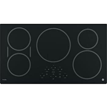 "GE PHP9036DJBB Profile 36"" Black Electric Induction Cooktop"