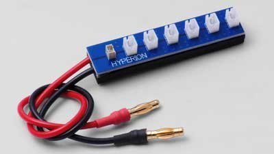 Adapter Hyperion - Hyperion Six Port parallel Charge Adapter for 1S LiPo mCPX Packs