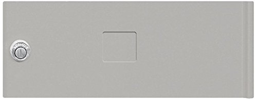 Salsbury Industries 3352GRY Replacement Door and Lock Standard B Size for Cluster Box Unit with Keys, Gray