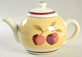 product image for Hartstone Russet Apple Teapot, Large