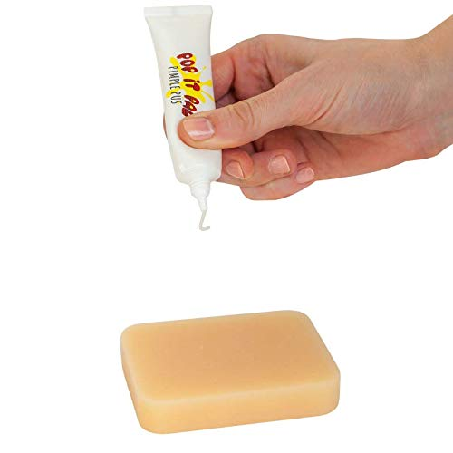 POP IT PAL - The Official Pimple Popping Toy with Refillable Pimple Pus  (Peach)