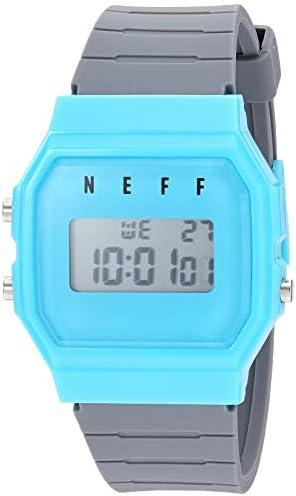 neff Men s Quartz Sport Watch with Plastic Strap, Multi, 22 Model NF0226-1