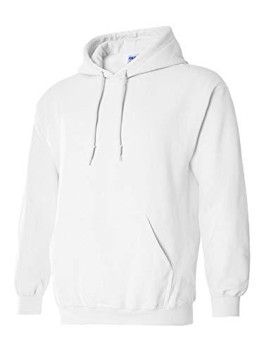 Gildan G185 Heavy Blend Adult Hooded Sweatshirt (Large, -